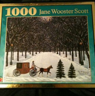 1000 Piece Jigsaw Puzzle Jane Wooster Scott Age of Innocence Beautiful