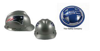 New England Patriots NFL Hard Hats ANSI OSHA MSA
