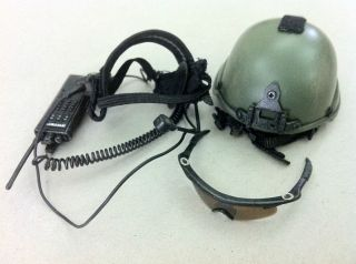 hot toys green beret mich Helmet headset goggles Rangers Navy Seal