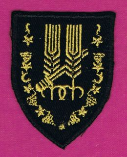 10th Armor Brigade Palmach Harel 1st Mecanized Brigade Patch