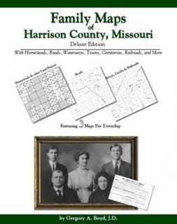 Genealogy Family Maps Cemetery Harrison County Missouri