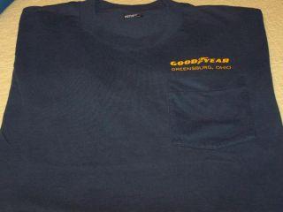 Goodyear Air Springs Greensburg Oh Vtg 1980s T Shirt