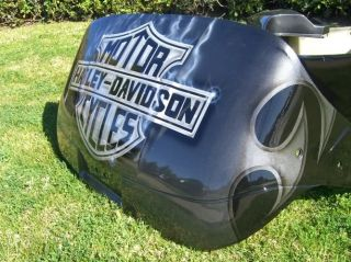 Custom Harley Davidson Front Rear Body Cowl Golf Cart Any Color