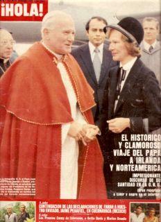 Pope John Paul II Karen Grassle Hola Mag 1979