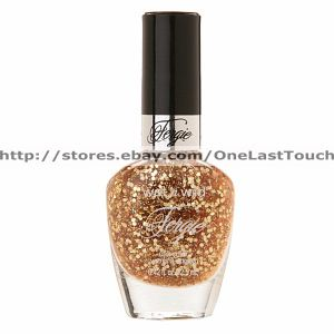 Fergie Nail Polish Enamel Color A004 Glamorous Enamel Wet N Wild Gold