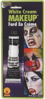White Grease Face Paint Cream Makeup Make Up Halloween Fancy Dress