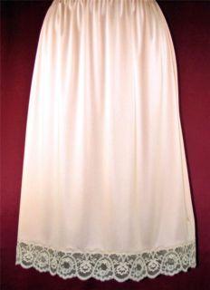 Ll Peachpuff Christian Dior Gorgeous Lace Half Slip L