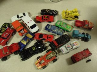 LARGE LOT VINTAGE HOT WHEELS BLUE BOX TOOTSIE ERTL AND MORE DIECAST