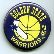 Old Golden State Warriors Logo Pinback Button UNSOLD