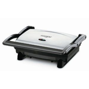 Griddler Panini Sandwich Press Maker Grill Home Kitchen Counter Top