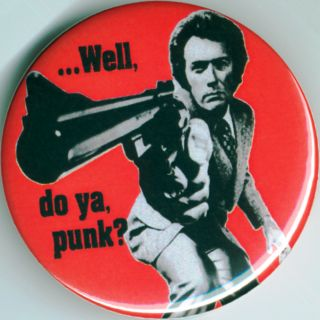 Dirty Harry Magnum Force 1 25 Pin Button Badge Magnet 1973 Clint