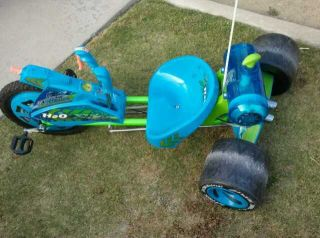 Huffy Green Machine Bike with RARE H2O Tank and Water Squirter