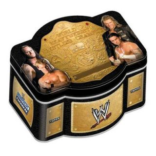 Topps 2010 WWE World Champion Tin Trading Cards   T10WWETINWORC