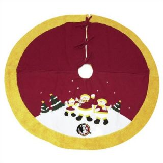 SC Sports NFL Snowman Christmas Tree Skirt