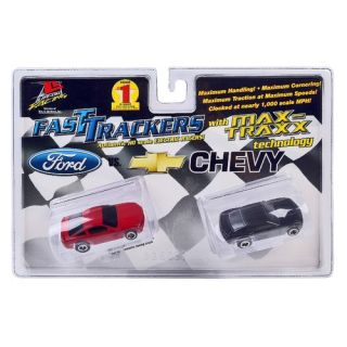 Life Like Fast Tracker Slot Cars, Twin Pack: Ford