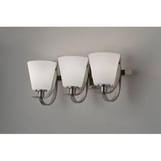 Feiss Vista Vanity Light in Brushed Steel   VS10403 BS