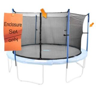 Upper Bounce 6 Pole Trampoline Enclosure Set to Fit 13 FT