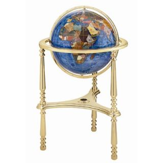 Alexander Kalifano 13 Ambassador Marine Blue Globe with Three Leg