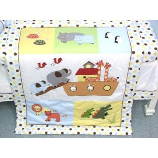 Soho Designs Noah Ark Baby 14 Piece Crib Nursery Bedding Set