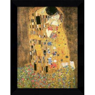 1907 by Gustav Klimt, Framed Canvas Art   22.62 x 17.62   DSW01512