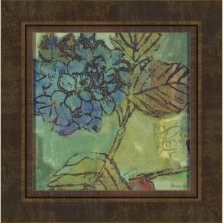 August Blue by Lisa Snow Lady Wall Art   17 x 17