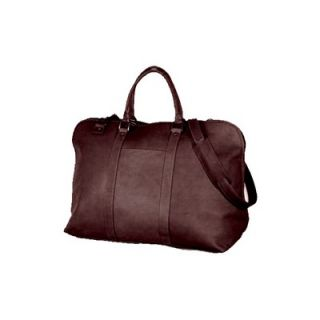 David King 19 Large Opening Leather Travel Duffel