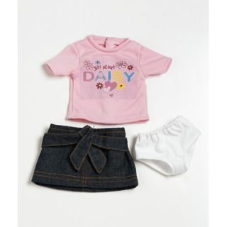 Adora Dolls 18 Doll Clothes   Daisy T Shirt / Skirt Set