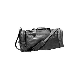 David King 19 Leather Classic Travel Duffel Bag