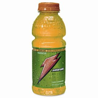 Gatorade Sports Drink, Carton of 24 20 oz. Plastic Bottles, Lemon