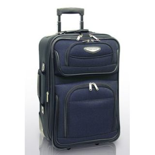 Travelers Choice Amsterdam 21 Expandable Rolling Carry On