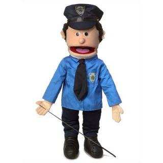 Silly Puppets 25 Caucasian Policeman Full Body Puppet