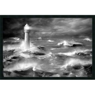 Four Lighthouse by Jean Guichard, Framed Print Art   25.66 x 37.66