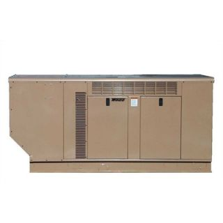 Power Systems Packaged Standby 24   27 Kilowatt Double Fuel Generator