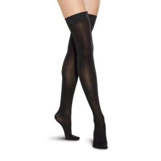 Therafirm Womens Mild Support Sheer Thigh High Stockings