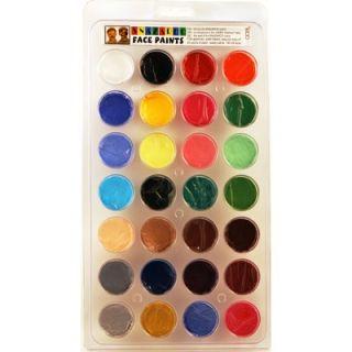 SnazarooUSA Face Paint Top 28 Color Palette
