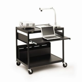 Projector / Laptop Presentation Cart with 4 Electrical Outlets   33 H