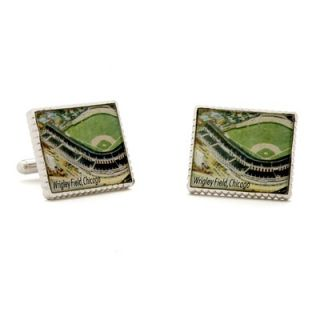 Penny Black 40 Authentic Wrigley Field Stamp Cufflinks   PB WRF SL