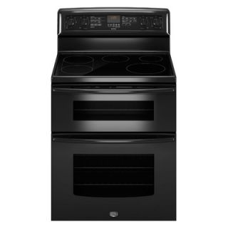 Maytag Gemini EvenAir Convection Electric Double Oven Range