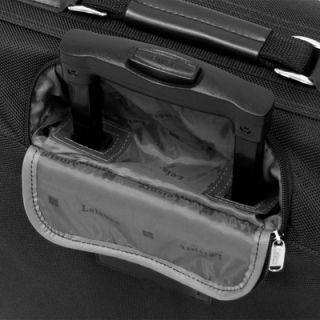 Leisure Luggage Wheeled 44 Garment Bag in Black   1574 black
