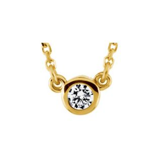 Jewelryweb 14k Two tone Diamond Cross Pendant   QTP105636NC