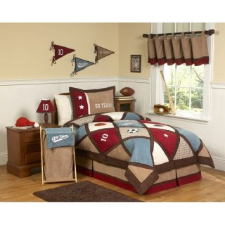Sweet Jojo Designs All Star Sports Kid Bedding Collection