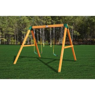 Gorilla Playsets Congo Free Standing Swing Station