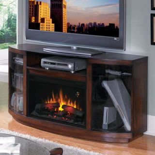 Hampton 55 TV Stand with Electric Fireplace