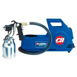 Paint Sprayer   4 PSI 2 Stage HVLP Finishing System   54 CFM