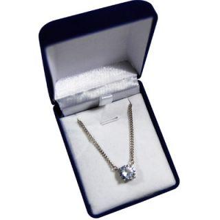 Premium Brilliant Cut Cubic Zirconia Pendant Necklace   290 55PEN
