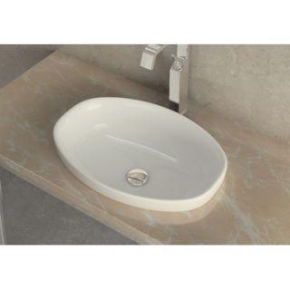 WS Bath Collections Ceramica 21.2 x 14.8 Self Rimming Bathroom Sink
