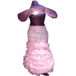 Pet Tease Mommys Girl Dog Frill Dress in Pink