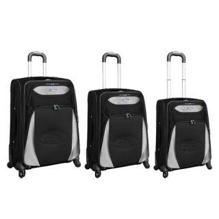 Heys USA Quad 3 Piece Spinner Luggage Set