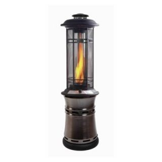 Shinerich The Inferno Central Flame Propane Patio Heater   SRPH68G