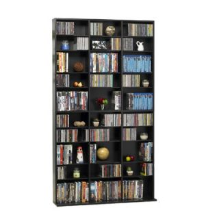 Atlantic 1080 CD / 504 DVD / 576 Blu ray Multimedia Storage Rack